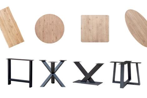 Gouwe Meubel Tafel configurator